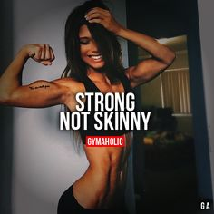 Love this! I'm not trying to be skinny, dainty, thin... any of it!  I don't want a smaller ass or a thinner thighs... God blessed me with an abundance in both areas and I celebrate it! I'm building them both up even bigger! Cause I'm a strong woman. Not a dainty princess damnit! And fuck a thigh gap!  I mean come on ladies!