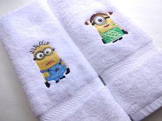 Minion Handtücher Sie wählen Größe Bad Handtuch von AugustAve