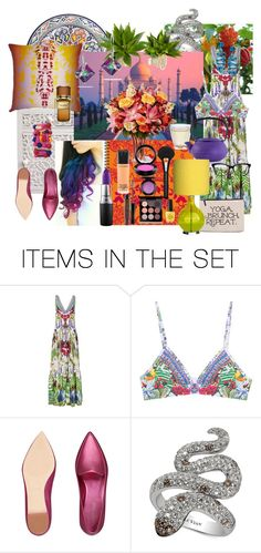 """""""Escape to Exotica"""" by billiej-712 ❤ liked on Polyvore featuring art"""