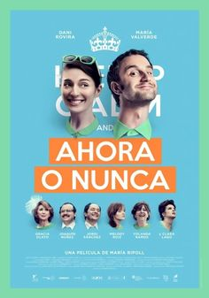 It's Now or Never (original title: Ahora o Nunca) is a 2015 romantic comedy film. The film had its premiere in Madrid on 6/16/2015 and was released in Spain on June 19. Plot: Álex (Dani Rovira) and Eva (María Valverde) are a happy couple who, after years of relationship, have decided to marry in the English countryside village (Castle Combe) where they met each other. However, an unexpected problem occurs: a strike of air traffic controllers prevent Álex and his guests arrive to where Eva…