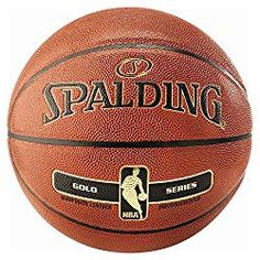 Spalding NBA Gold – Basketball Indoor/outdoor – size new version Street Basketball, Nba Basketball, Dream Team, Lebron James, Michael Jordan, Indoor Outdoor, Kobe, Training, Unisex