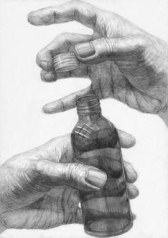 鉛筆デッサン解答例04|多摩美術大学 生産デザイン学科プロダクトデザイン専攻 Drawing Skills, Drawing Techniques, Life Drawing, Figure Drawing, Anatomy Drawing, Anatomy Art, Hand Drawing Reference, Art Reference, Pencil Art Drawings