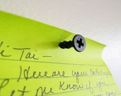 Screw Push Pins by Kikkerland - $3 | The Gadget Flow