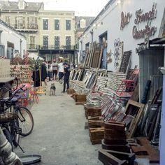 Deep South, flea market, French Quarter, New-Orleans, Louisiana USA (2014)