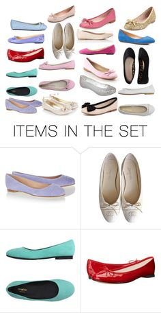 """""""flats"""" by babygirlchelle on Polyvore featuring art"""