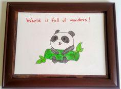 World is full of wonders : https://www.amazon.com/Baby-Room-Decor-Painting-Frame/dp/B06XH5BW9N?ref=hnd_dp_car_mba_16