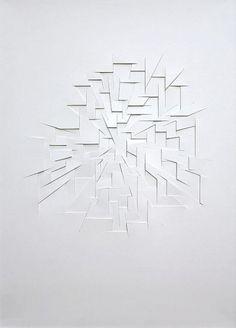 Franz Riedel - Papier reliefs: