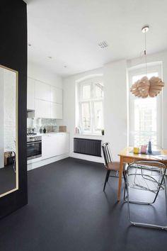 Minimal Apartment Kitchen