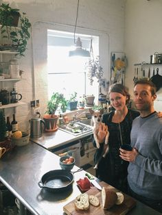 Emily & Colin's Plant-Filled (53 and Counting!) Brooklyn Loft