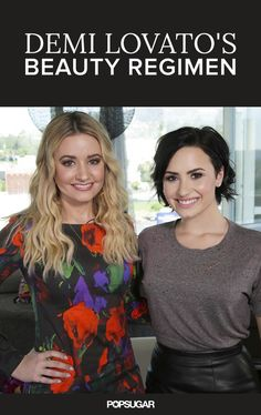 Demi Lovato reveals her favorite beauty products.