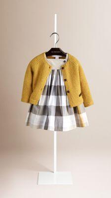 Chunky-Knit Wool Alpaca Cardigan