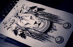 Shaman lion by ~quidames on deviantART
