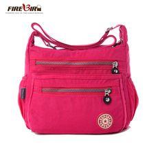 FIREBIRD! 2015 yeni Kore moda kadın omuz çantası su geçirmez naylon torba Omuz Messenger katmanlı çanta kadın çantası H162 (Çin (Anakara))