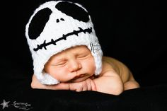Skeleton Crochet Hat w/ Ear Flaps Any Size by TheHandmadeHeritage, $18.00