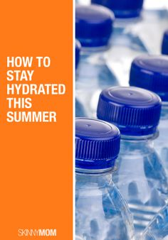 Here are some quick tips on how to stay hydrated in the hot summer heat!