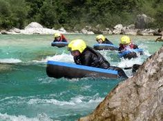 Summer water sports include rafting, canyoning and hydro-speeding close to your luxury summer chalet