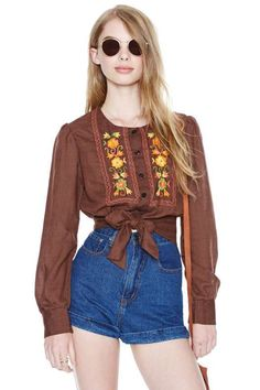 Madeline Blouse - Tops