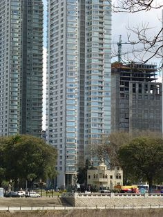 Old and new in Puerto Madero, Buenos Aires. by abaesel, via Flickr