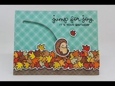 My Sweet Petunia MISTI: Jump for Joy - Aligning Die Cuts - Aligning card panels
