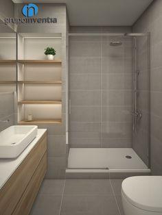 Busca imágenes de Baños de estilo moderno en beige: Equipamiento de baño. Encuentra las mejores fotos para inspirarte y crea tu hogar perfecto.