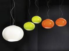 Lucente design amazing Noa Colorful Glass Lamps