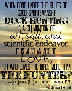 The truth about duck hunting. Haven't we all felt this way? Only true waterfowlers, hunters, and countrymen understand.