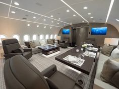 Most Luxurious Private Jets in the World Jets Privés De Luxe, Luxury Jets, Luxury Private Jets, Private Plane, Luxury Suv, Boeing 787 Dreamliner, Boeing 747, Casa Magna, Avion Jet