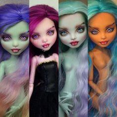 Любимая рыжуля в новом комбезе) #эшлин #куклы #мх #миниатюра  #еах #шьюсама #эверафтерхай #ательесинички #одеждадлякукол #dollhobby… Doll Eyes, Doll Repaint, Disney Characters, Fictional Characters, Halloween Face Makeup, Dolls, Disney Princess, Baby Dolls, Puppet