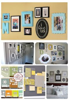 25 Ideas for decorating your walls! @ MyHomeLookBookMyHomeLookBook