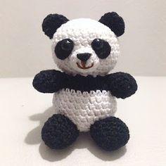 La piccola bottega della Creatività: Panda amigurumi - Tutorial uncinetto