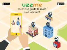 Trying to find a store but ended at different location? Try UzzMe which takes you to the though it is into the streets. You will land where you expect to reach with Uzzme App App Stor, To Reach, Hyderabad, Store, Business, Shop, Storage