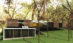 vista externa   exterior view – Arquitetos Associados