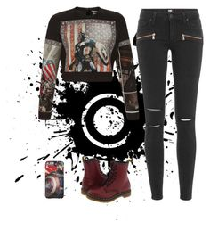 """assemble!"" by kennedy45 on Polyvore featuring FAUSTO PUGLISI, Paige Denim and Dr. Martens"
