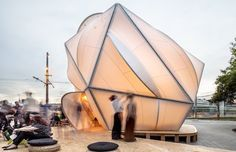 Bioclimatic dome inspired by Buckminster Fuller's Dymaxion world map | Architecture And Design