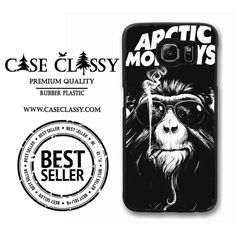 Arctic Monkeys Art Smoke Samsung Galaxy S6 Edge Case caseclassy.com