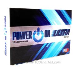 #sexshop #portugal #potenciador Power On ULTRA (10) comprimidos para Homem