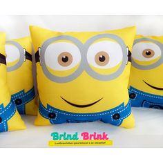 Minions -  Almofada personalizada - www.brindbrink.com