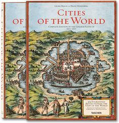 Google Earth's ancestor: a snapshot of urban life, circa 1600  History's most opulent collection of town maps and illustrations  The complete reprint of all 363 color plates from Braun and Hogenberg's survey of town maps, city views, and plans of Europe, Africa, Asia and Central America, with dozens of unusual details, as well as selected extracts from the original text and an in-depth commentary. First published in Cologne 1572-1617.