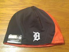 New Era Detroit Tigers MLB Baseball On Field Authentic Knit Beanie Hat Cap ADULT #NewEra #DetroitTigers