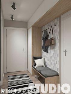 funkcjonalny korytarz - zdjęcie od MIKOŁAJSKAstudio - Hol / Przedpokój - Styl…