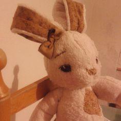Le Creazioni di Sasha: Animali di pezza, coniglietta