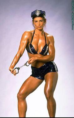 Lisa Marie Varon (WWE Victoria, TNA Tara) back in her fitness days  #fitnessfriday