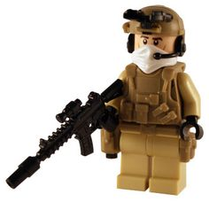 Army Ranger - Custom Lego Figure