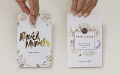 M&R Wedding Stationery on Behance