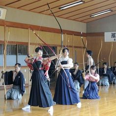 Japanese art of archery