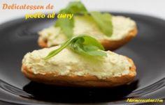 COPIADA Delicatessen de pollo al curry suavizado con queso crema ideal para untar en tostadas. Perfecto para picoteo en las cenas o reuniones con amigos.