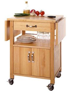 Kitchen Islands & Carts - Drop Leaf Kitchen Cart WS-84920 by Winsome Woods   Kitchensource.com