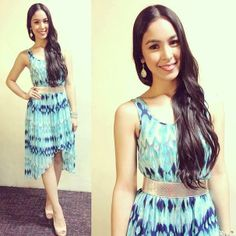 Waves. @Julia Barretto Carry On, Pride, Two Piece Skirt Set, Asian, Filipino, 3, Skirts, Waves, Beauty