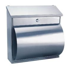 0751f2b84e33a 26 Best Silver Mailboxes - Stainless Steel images in 2012 | Mailbox ...