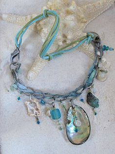 Sea Treasure Necklace    SOLD~